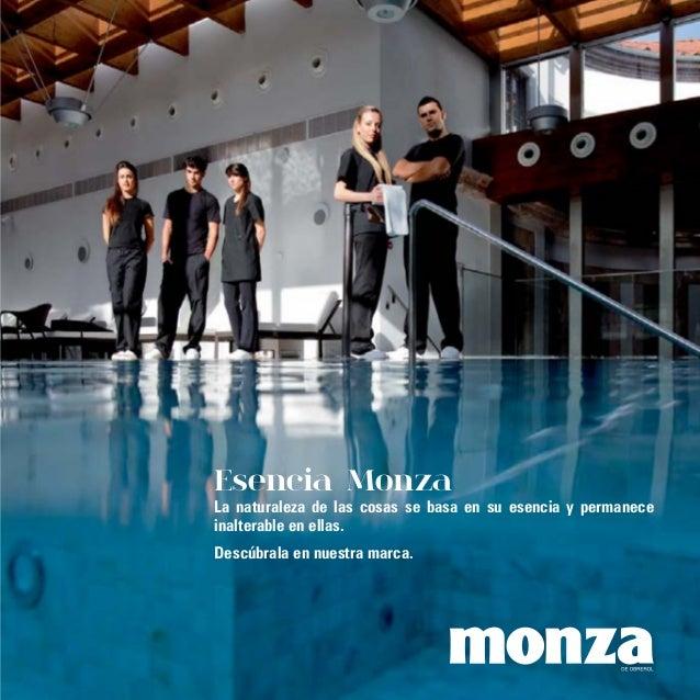 Esencia Monza La naturaleza de las cosas se basa en su esencia y permanece inalterable en ellas. Descúbrala en nuestra mar...