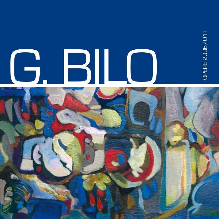 G. BILO  OPERE 2006/011