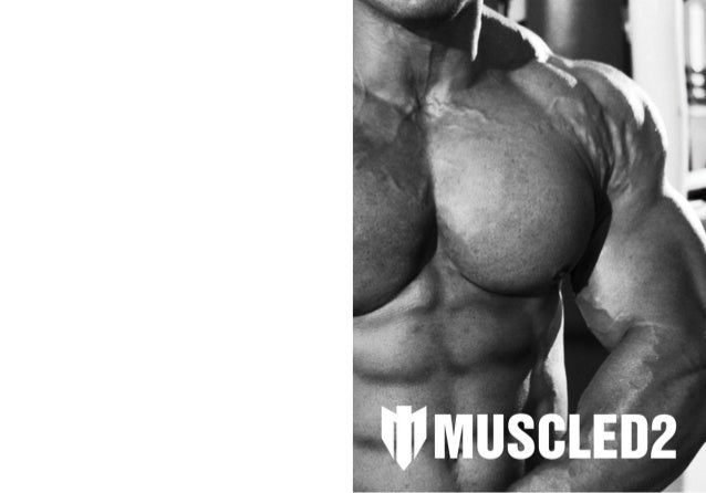 Catálogo dos produtos Muscled2