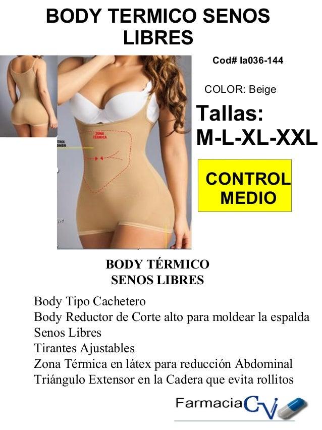 catalogo fajas modeladoras  reductoras  hombre y mujer  cv