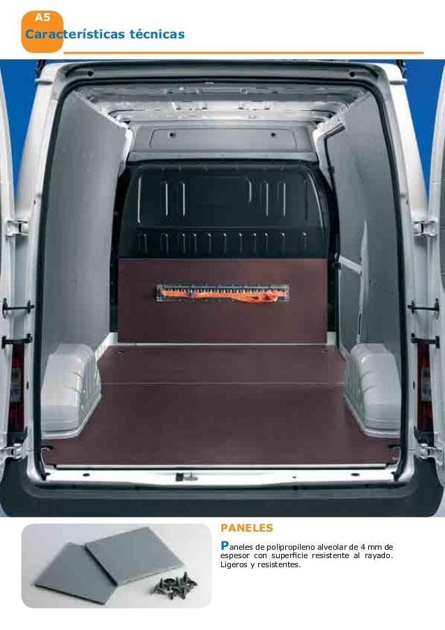 Equipamiento interior de furgonetas taller catalogo 2014 ford - Medidas interiores furgonetas ...