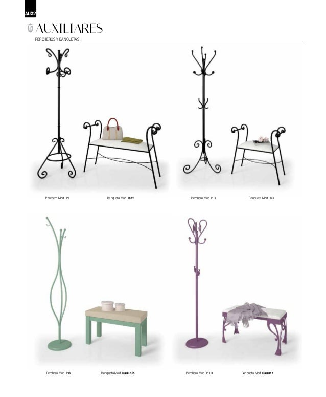 Catalogo de muebles de forja - Muebles de forja ...