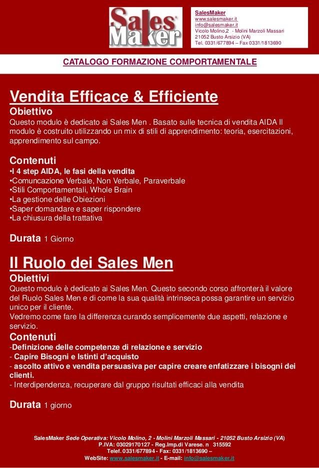 SalesMaker                                                                    www.salesmaker.it                           ...