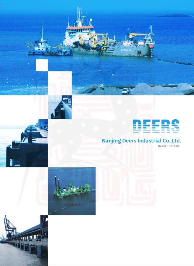 Rubber Fenders Nanjing Deers Industrial Co.,Ltd. ChinaRubberFender.com
