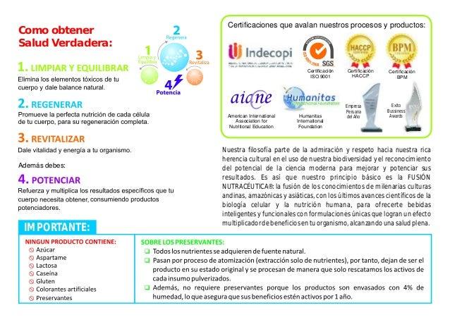 Catalogo Fuxion 2015 - Salud total Slide 2