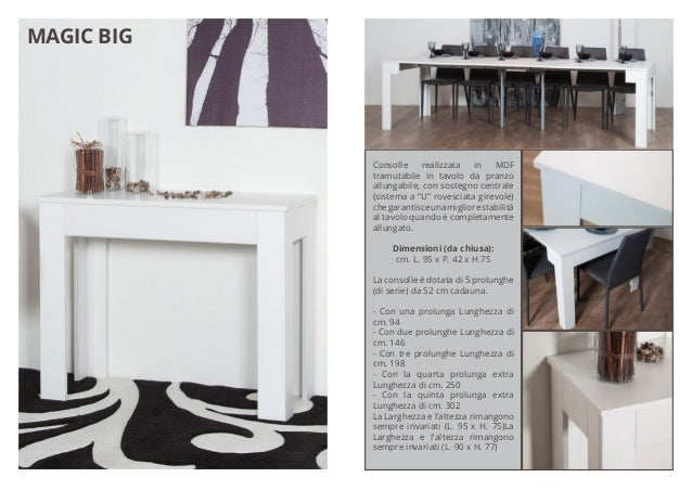 Consolle Allungabile Magic Big.Group Design Catalogo On Line