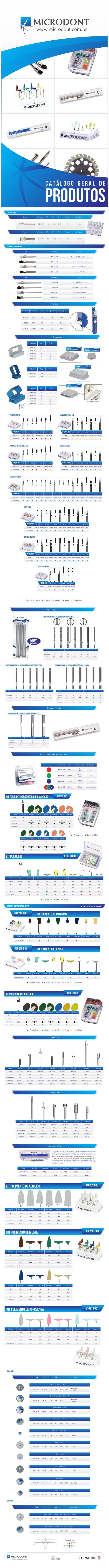 Microdont - Catálogo de Produtos