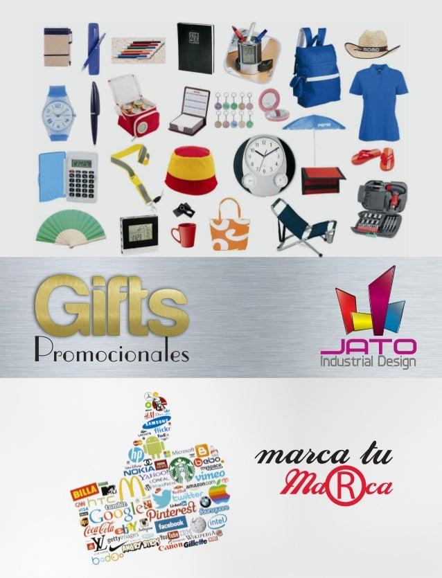 Catalogo gifts promocionales jato industrial design