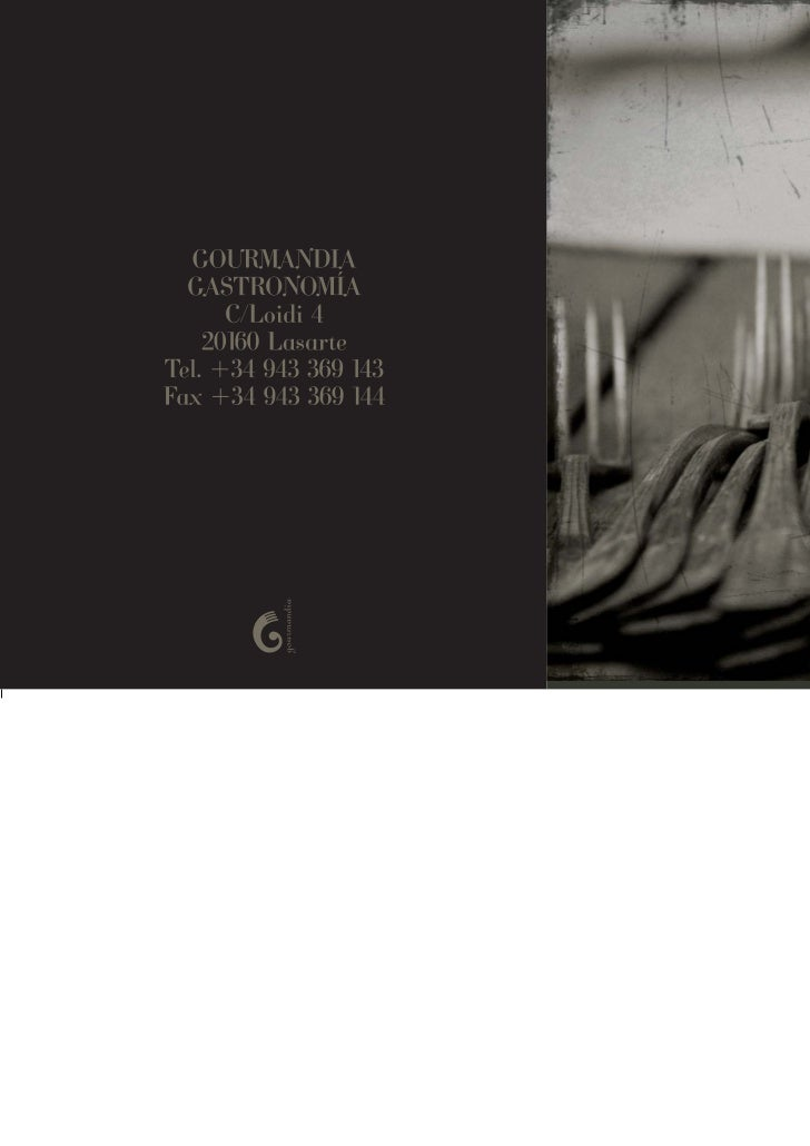 Catalogo gourmandia