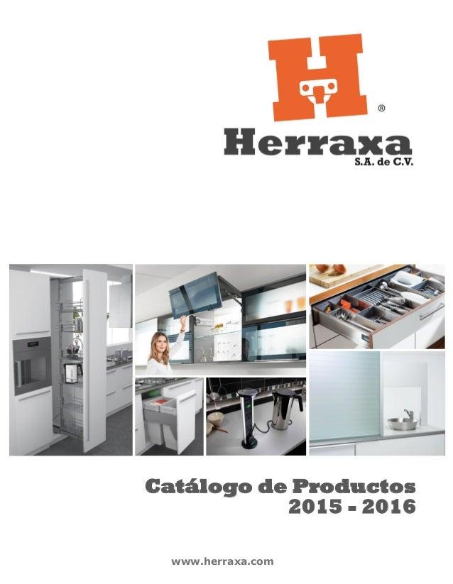 www.herraxa.com Catálogo de Productos 2015 - 2016