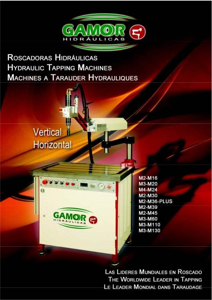 Hydraulic tapping machines GAMOR