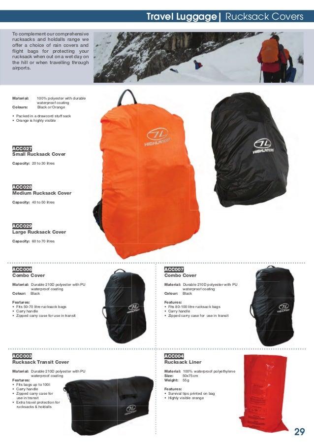 Sac de voyage 32 litres Bag Base Packaway