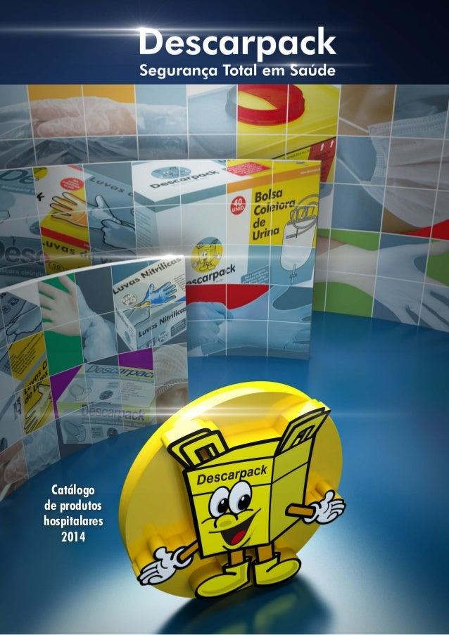 Catálogo de produtos hospitalares 2014