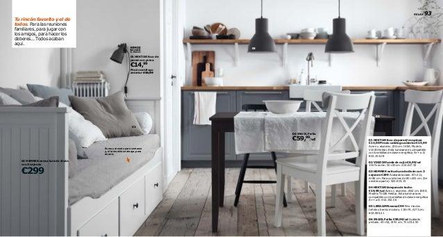 Catalogo Ikea Mesas De Cocina. Cocina Blanca Con En Acero Inoxidable ...