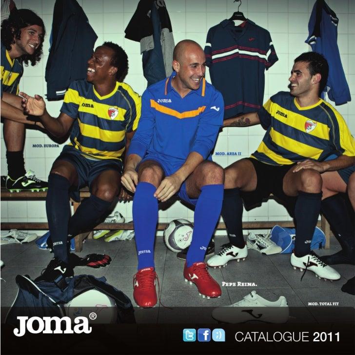 Catálogo Joma Sport Futbol