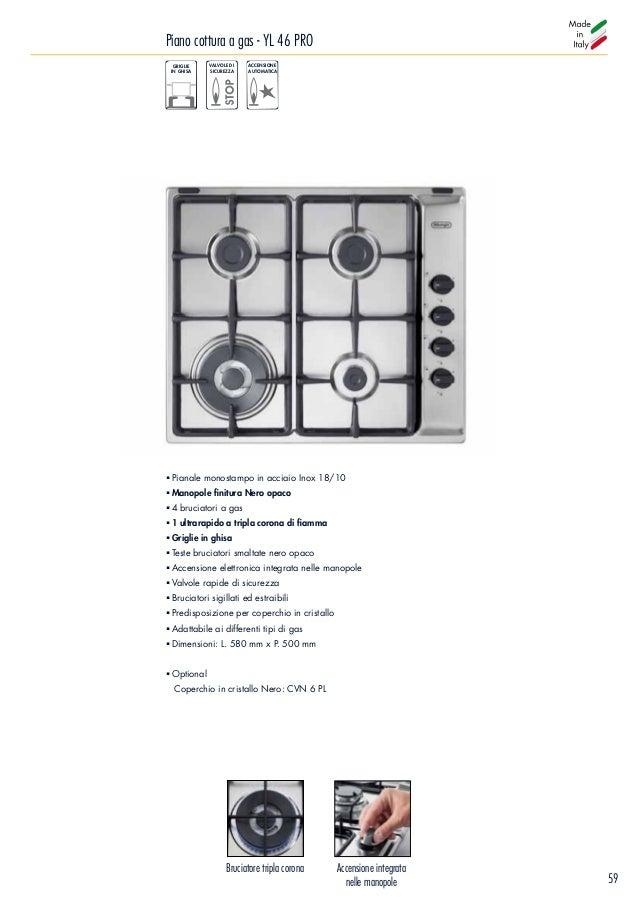 PROMO COPERCHIO IN CRISTALLO DA 60CM DE LONGHI CVB 6 PF COLORE BIANCO