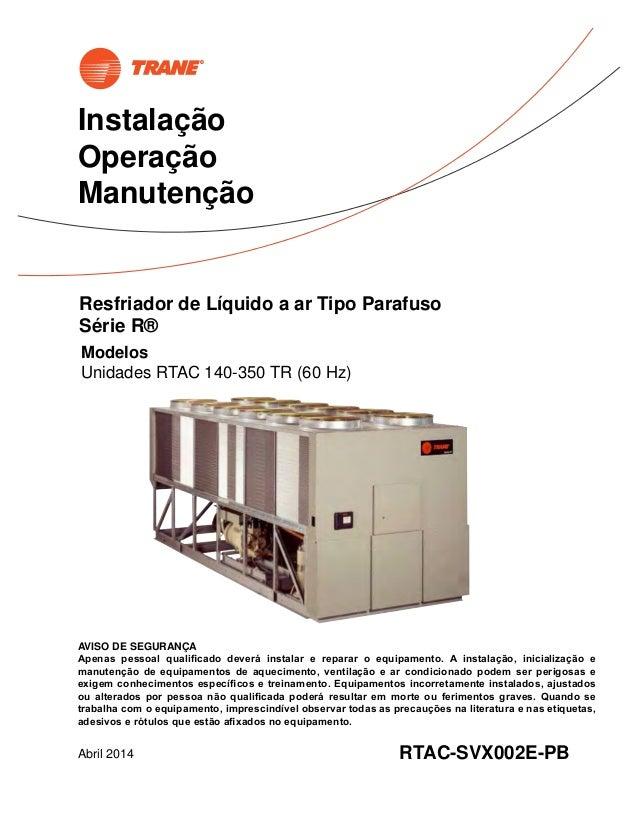 trane rtac 400 chiller manual