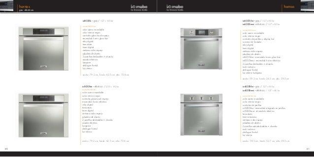 Catalogo digital io mabe 2014 - Enchufes para hornos ...