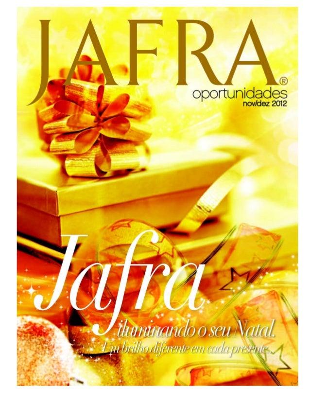Catálogo Jafra novembro/dezembro 2012