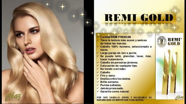 ✓ Calidad REMI PREMIUM ✓ Tiene la textura más suave y sedosa de todas las marcas. ✓ Cabello 100% humano, seleccionado a ma...