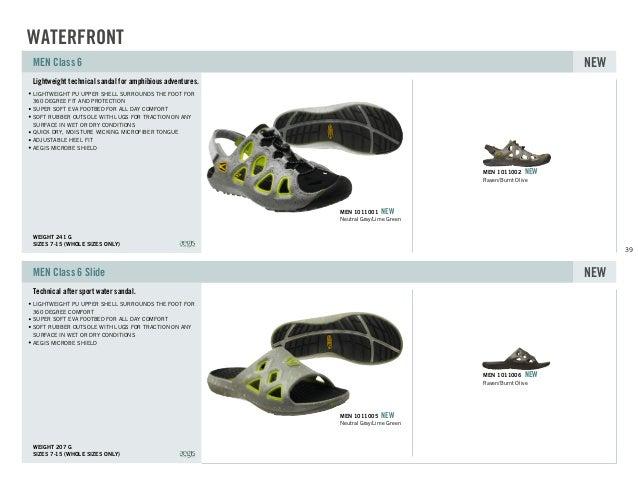 facdbe86ac5b ... Class 6 Slide NEW Raven Burnt Olive MEN 1011006 NEW Neutral Gray Lime  Green MEN 1011005 NEW WATERFRONT  39. 40 Performance water sandal ...