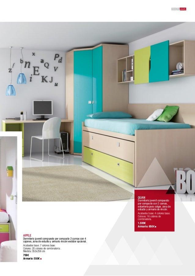 Kiona cat logo colecci n 2012 muebles y decoraci n for Catalogos habitaciones juveniles precios