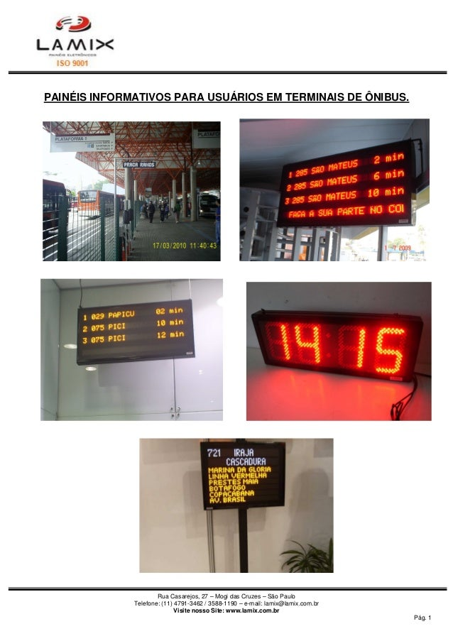 Rua Casarejos, 27 – Mogi das Cruzes – São Paulo  Telefone: (11) 4791-3462 / 3588-1190 – e-mail: lamix@lamix.com.br  Visite...