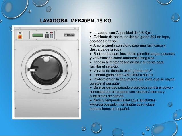 Catalogo lavadoras y secadoras industriales - Mueble para lavadora y secadora ...
