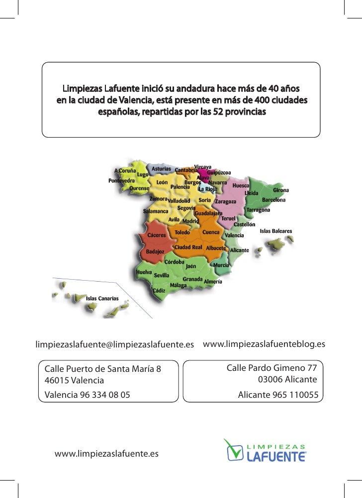 Empresa de limpieza en valencia cat logo corporativo for Empresas de limpieza en castellon