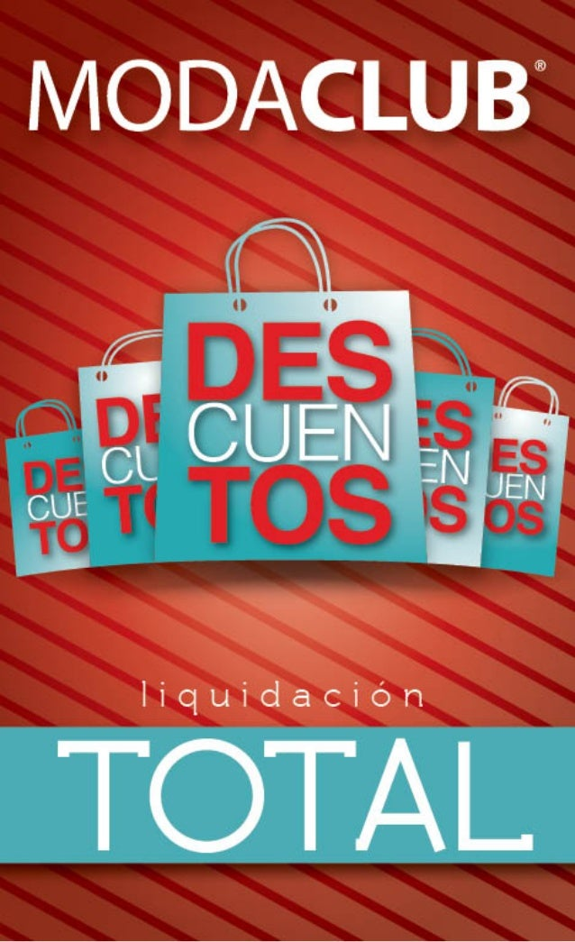 Catalogo liquidacion total moda club invierno 2013 for Muebles liquidacion total