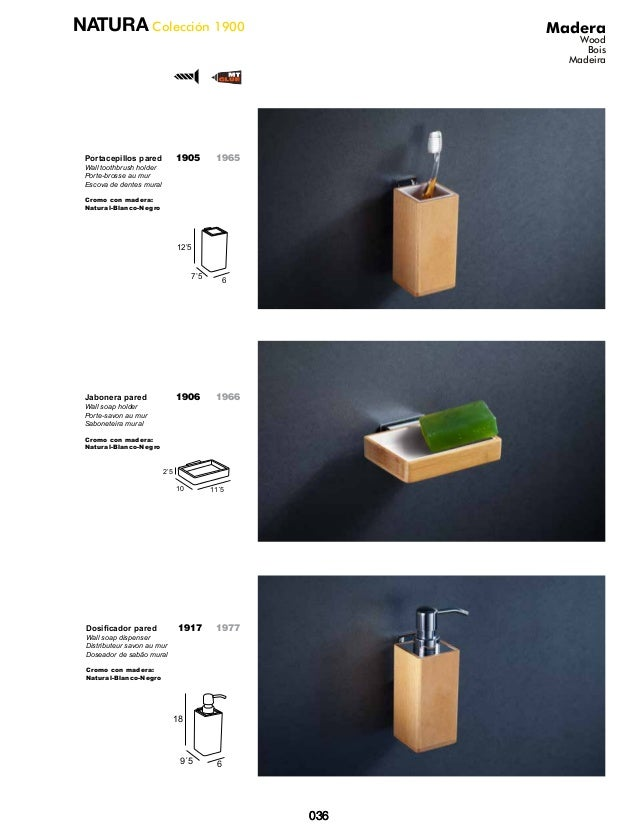 accesorios bao madera