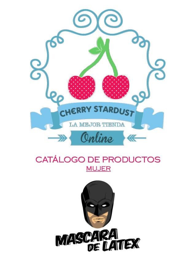 CATÁLOGO DE PRODUCTOS MUJER