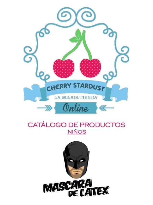CATÁLOGO DE PRODUCTOS NIÑOS