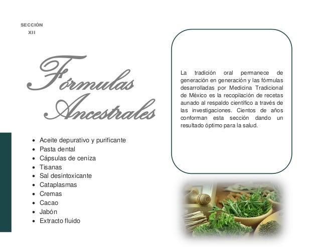 Recetas de medicinas tradicionales mexicanas