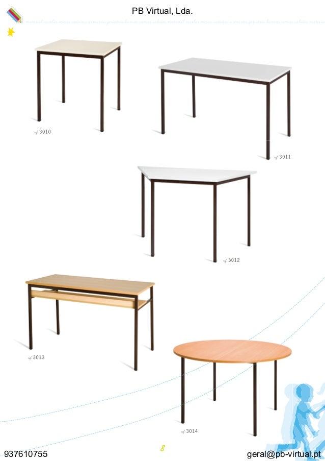 Catalogo Mobiliario Escolar Pb