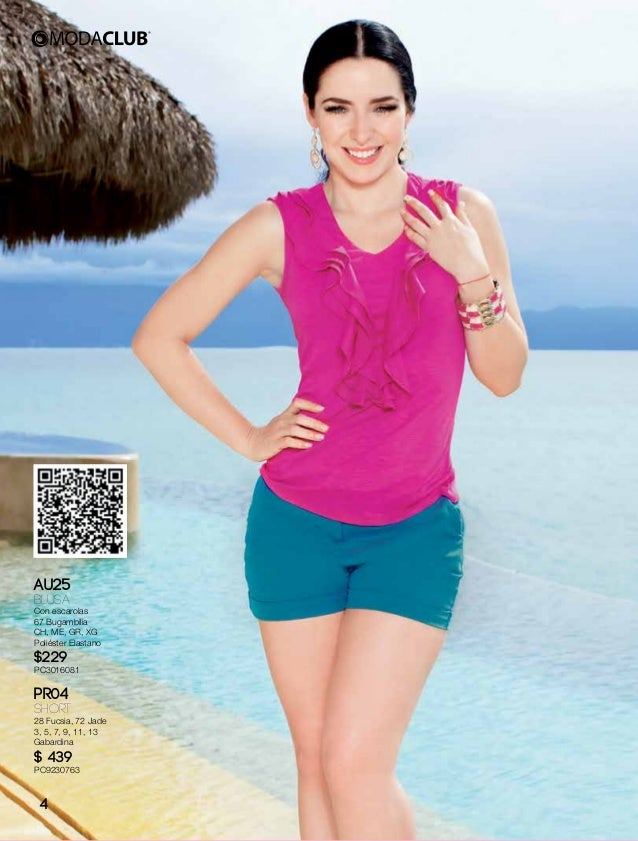 Catalogo moda club linea primavera verano 2015 ariadne diaz Slide 3