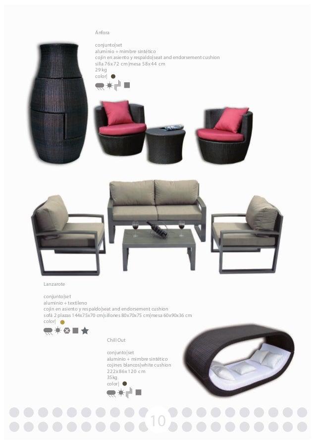 Catalogo muebles de jardin vervi 2013