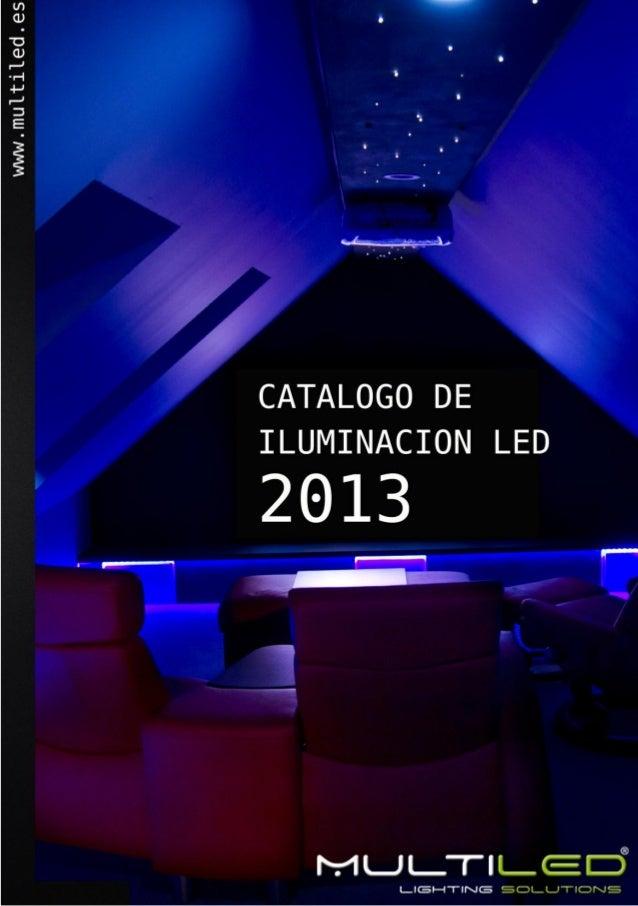 Catalogo de iluminaci n led 2013 - Catalogo de iluminacion interior ...