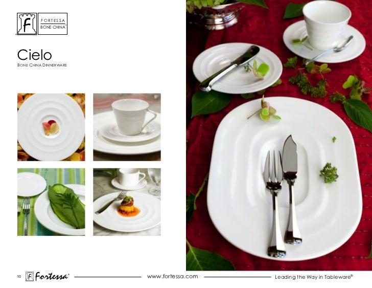 ForTessa                    Tm         Bone chinacieloBone china dinnerWare10       Fortessa          ®                   ...