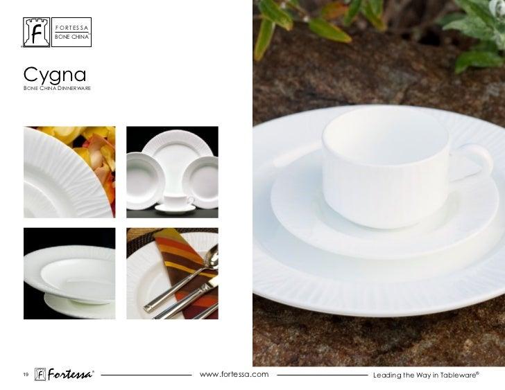 ForTessa                    Tm         Bone chinacygnaBone china dinnerWare19       Fortessa          ®                   ...
