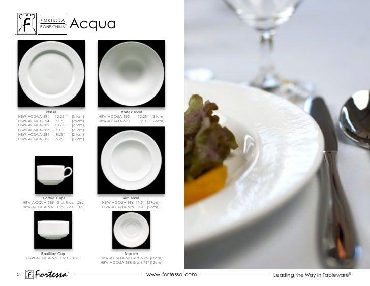 ForTessa             Bone china                         Tm                                  acqua           Plates        ...