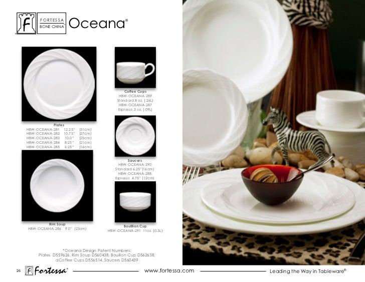 ForTessa          Bone china                     Tm                              oceana               ®                   ...