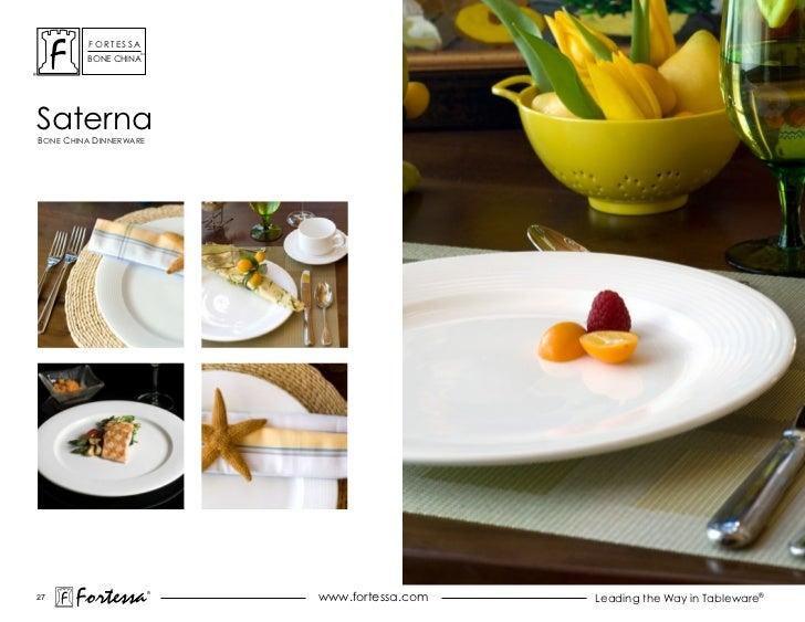 ForTessa                    Tm         Bone chinasaternaBone china dinnerWare27       Fortessa          ®                 ...