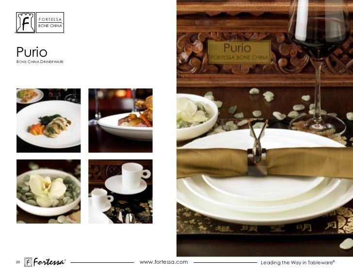 ForTessa                    Tm         Bone chinaPurioBone china dinnerWare29       Fortessa          ®                   ...