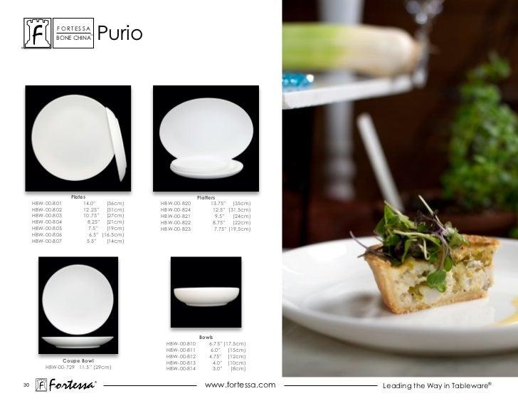 ForTessa             Bone china                         Tm                                  Purio                  Plates ...