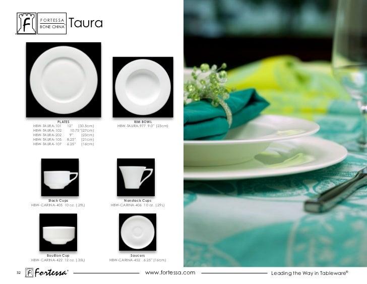 ForTessa         Bone china                      Tm                               Taura                PLATES             ...