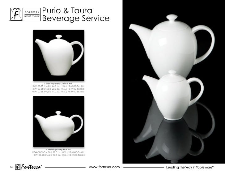 ForTessa            Purio & Taura                          Beverage service                 Tm      Bone china            ...
