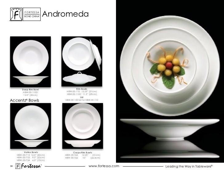 ForTessa           Bone china                         Tm                                  andromeda         Deep Rim Bowl ...