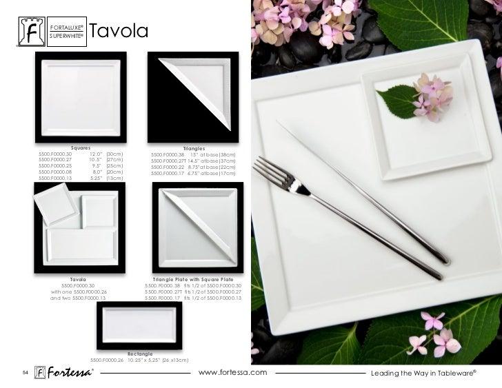 ForTaLuxe®         suPerWhiTe®    Tavola                  Squares                                     Triangles     5500.F...