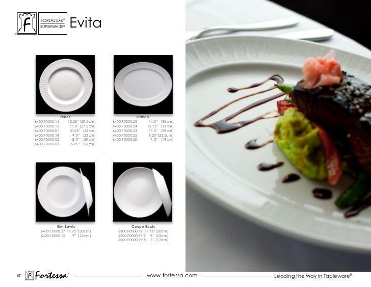 ForTaLuxe®       suPerWhiTe®           evita                     Plates                              Platters     6400.F00...